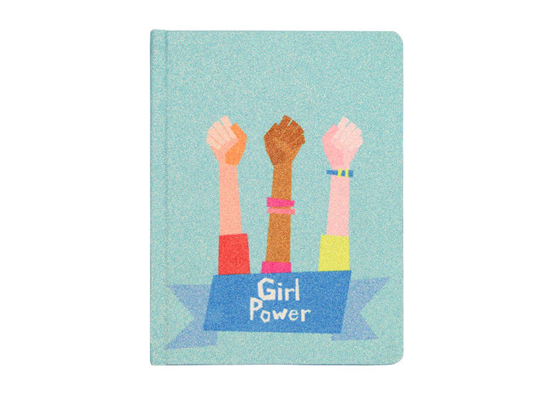 Office Custom Journal Printing , Personalised Glitter Notebook for girls journal notebook
